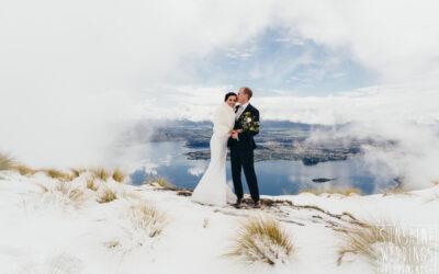 Queenstown Winter Wedding