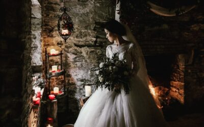 Good Lighting helps set the mood of your Winter Wedding.